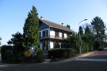 Zwitsers chalet: Oubergzicht